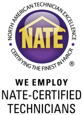 We Employ N.A.T.E. Certified Technicians
